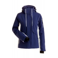 Nils Harlow Ladies jkt (NAVY/WHITE) - 20